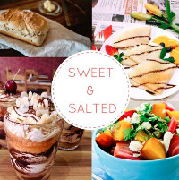 logo for Sweet & Salted cafe