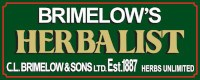 logo for Brimelows, Herbalists in Dewsbury