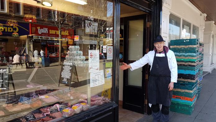 Photo of Allan Jubb, the Healthy Butcher in Dewsbury