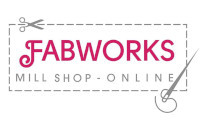 logo of Fabworks Mill Shop, Dewsbury